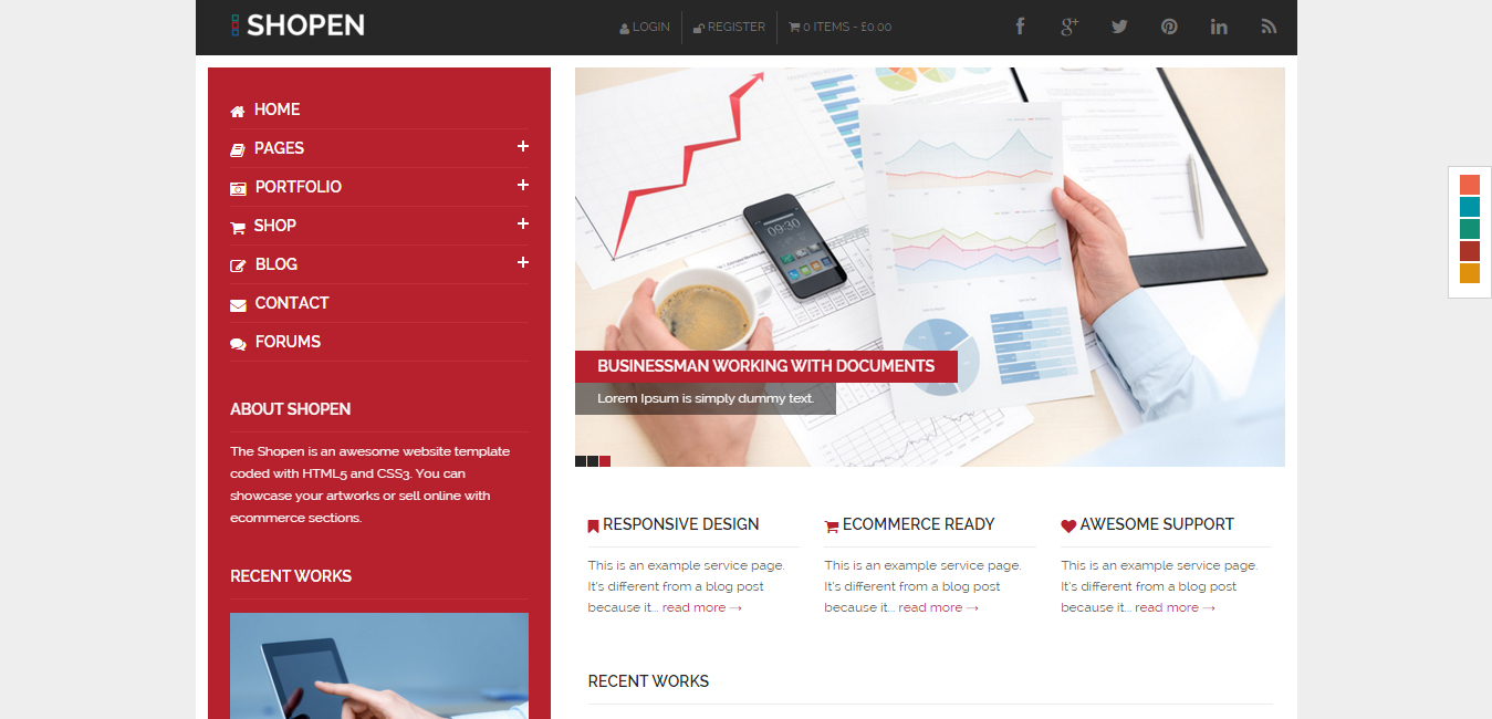Shopen - Responsive WooCommerce WordPress Theme