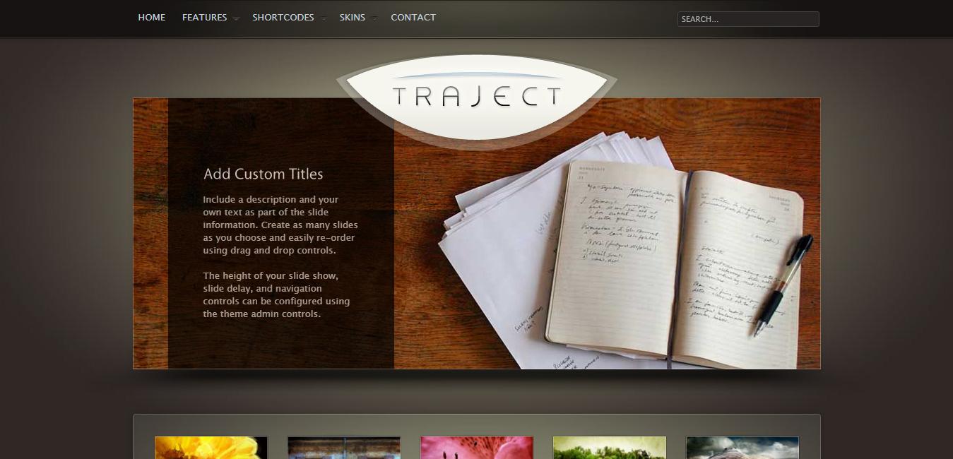 Traject - WordPress Portfolio and Business Theme