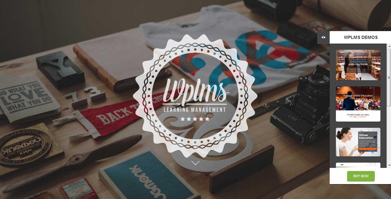 WPLMS - Education WordPress Premium Themes 2016