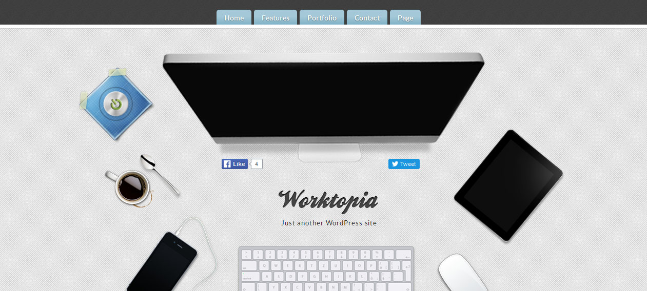 Worktropia - Best HTML5 Based WordPress Themes 2016