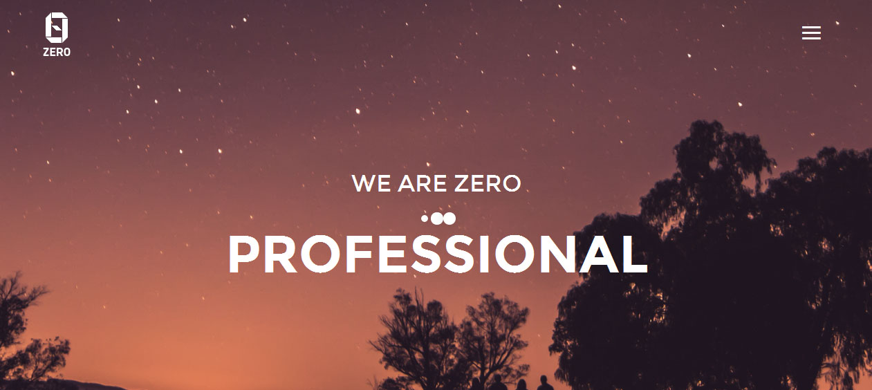 ZER0 - HTML5 Based WordPress Themes