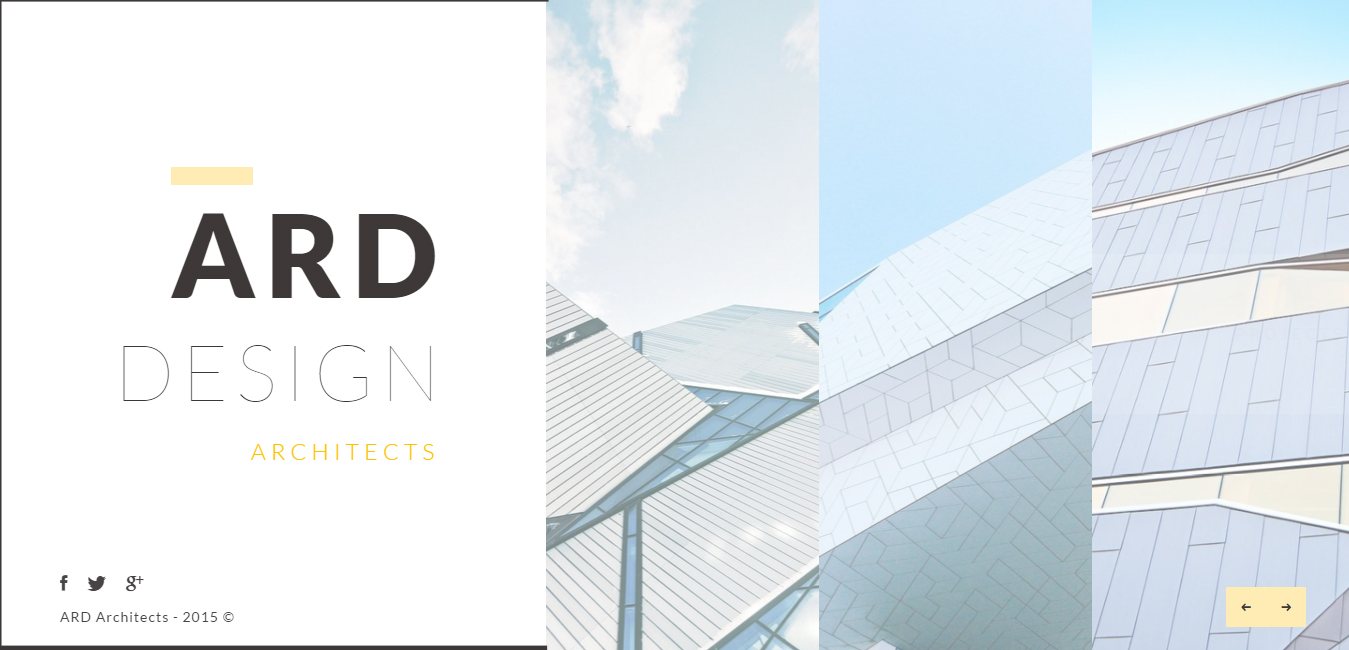 ARD - Architect Minimal WordPress Theme