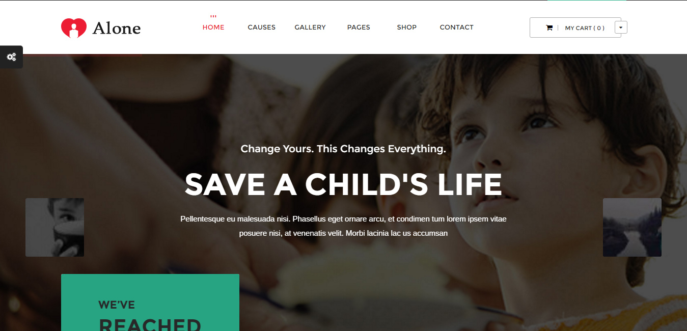 Alone - Multipurpose Non-profit WordPress Theme