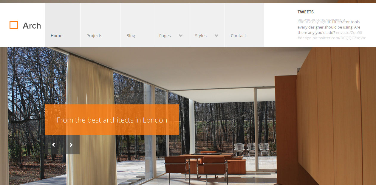 Arch - Architects WordPress Themes
