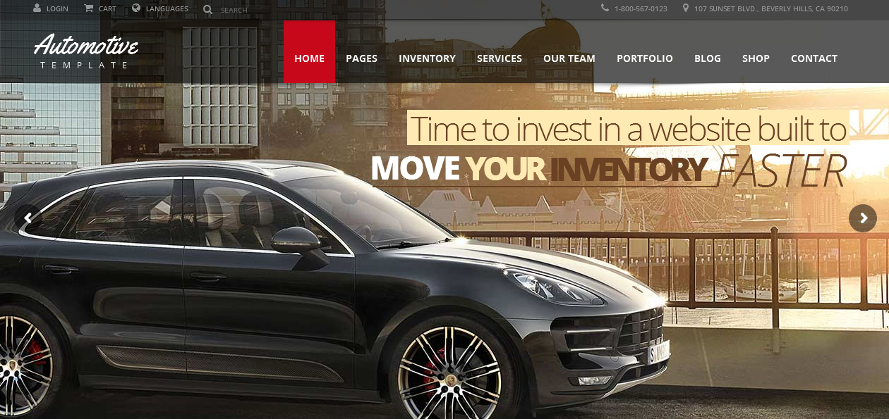 Automotive - Car and Motorcycles WordPress themes