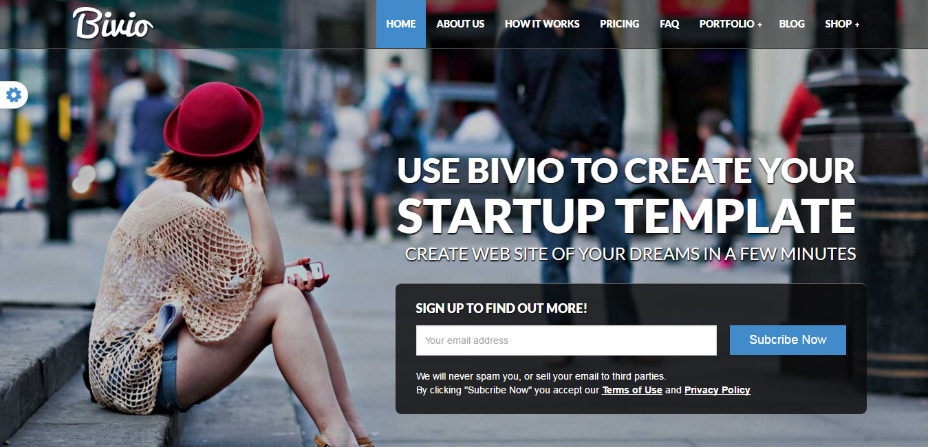 Bivio - IT Company WordPress Themes