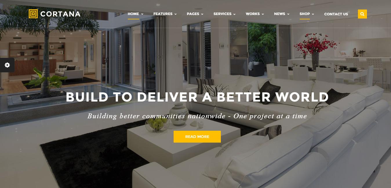 Cortana - business wordpress themes