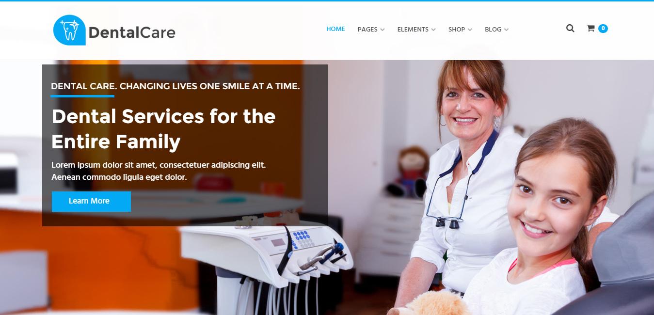 Dental Care - Dental & Medical WordPress Theme