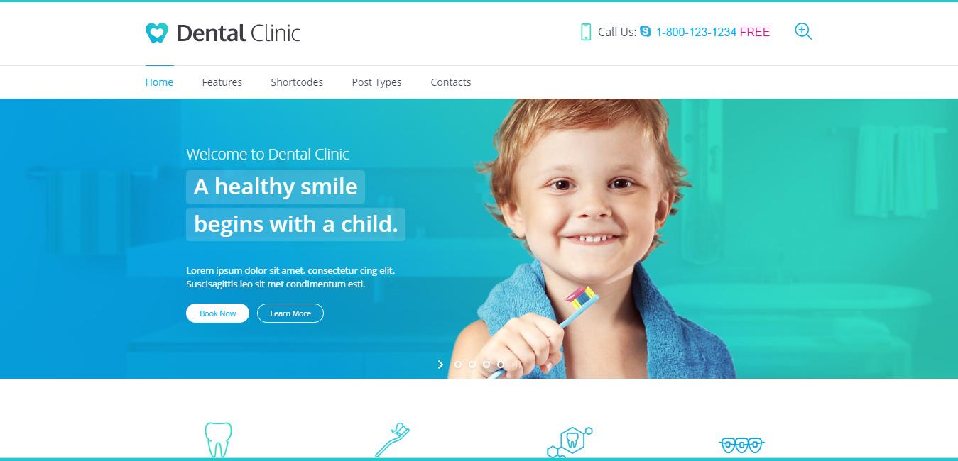Dental Clinic - Medical & Dentist WordPress Theme