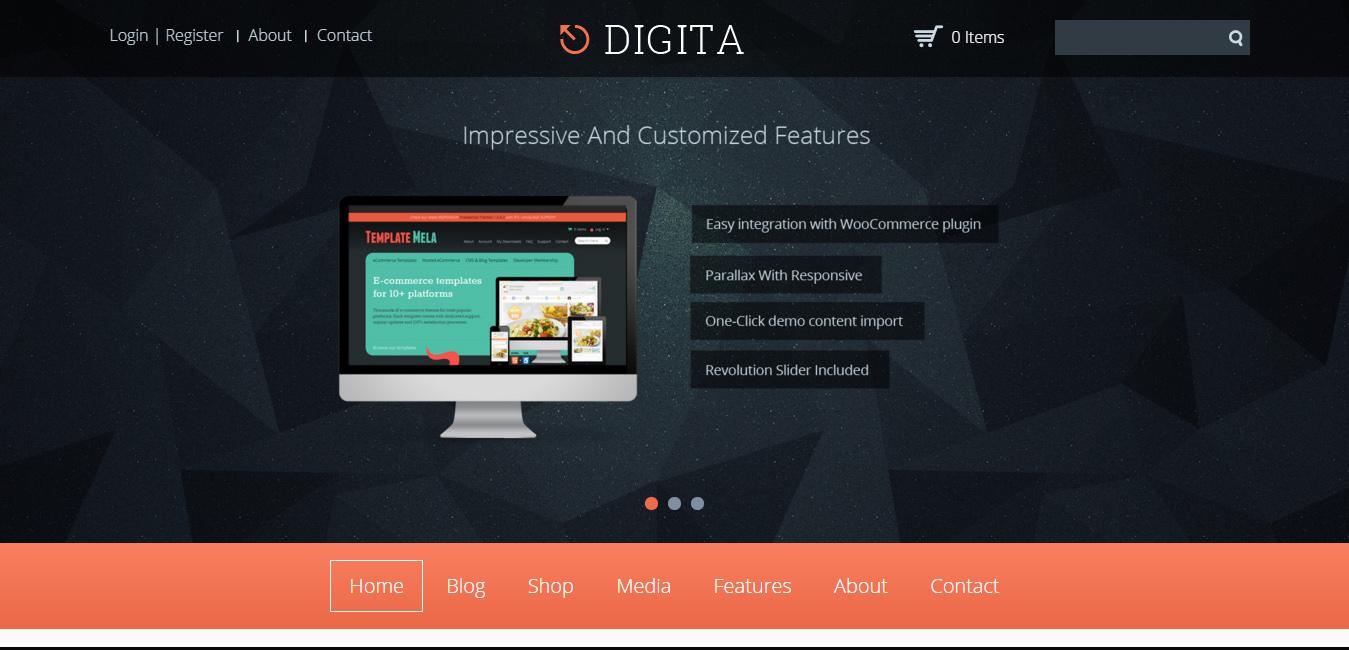 Digita - computer wordpress themes