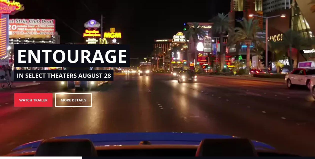 ENTOURAGE - Movie WordPress Themes
