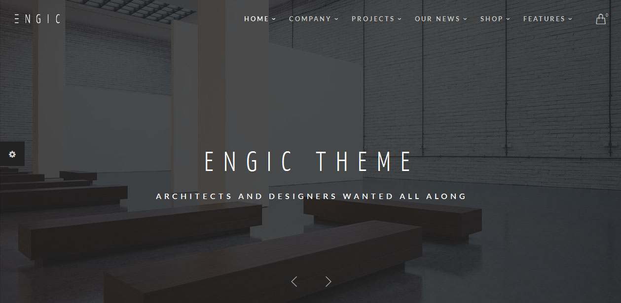 Engic - Architects WordPress Themes
