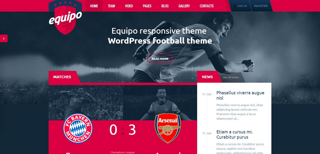 Equipo Responsive WordPress Theme