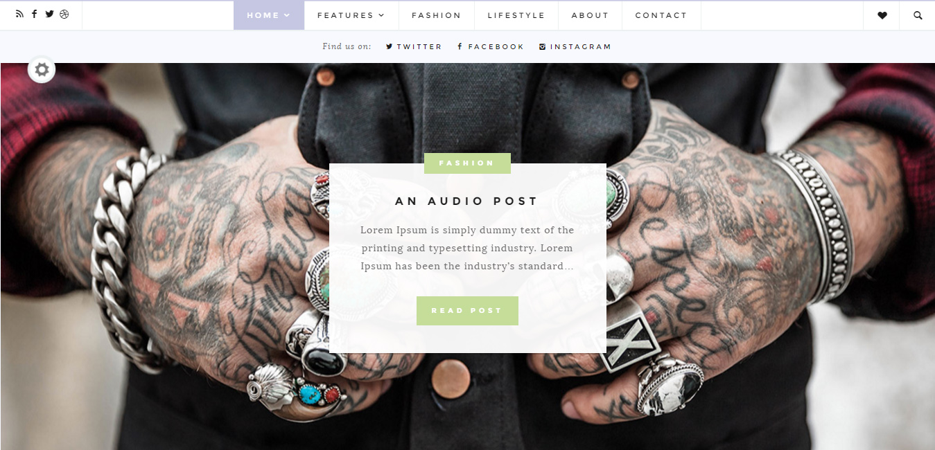 Fulford - Responsive WordPress Blogging Theme