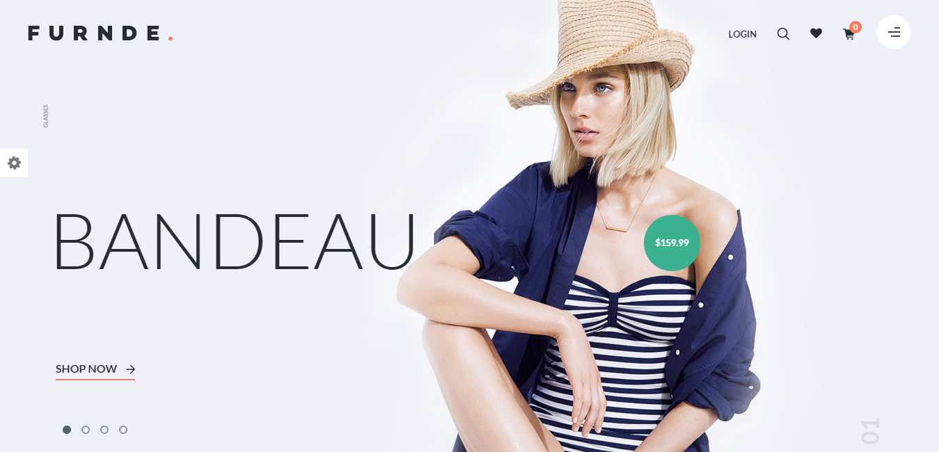 Furnde - Responsive eCommerce WordPress Theme