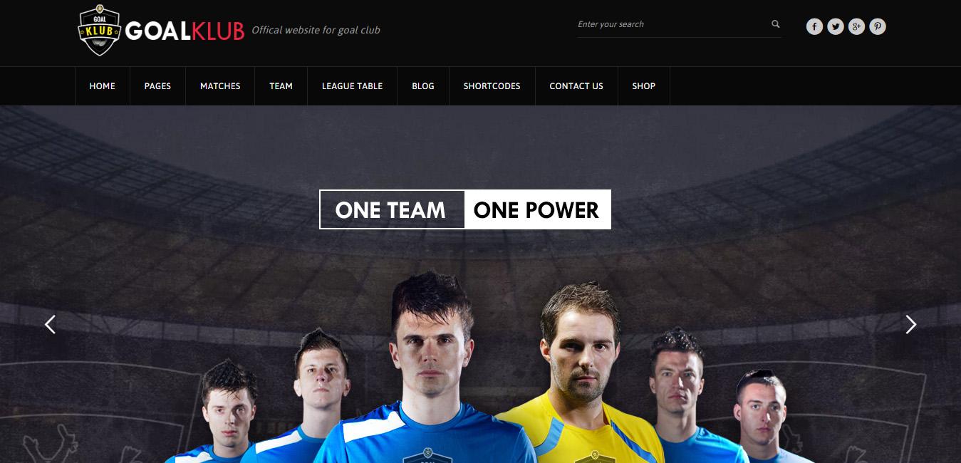 Goal Club - Sports & Events WordPress Theme