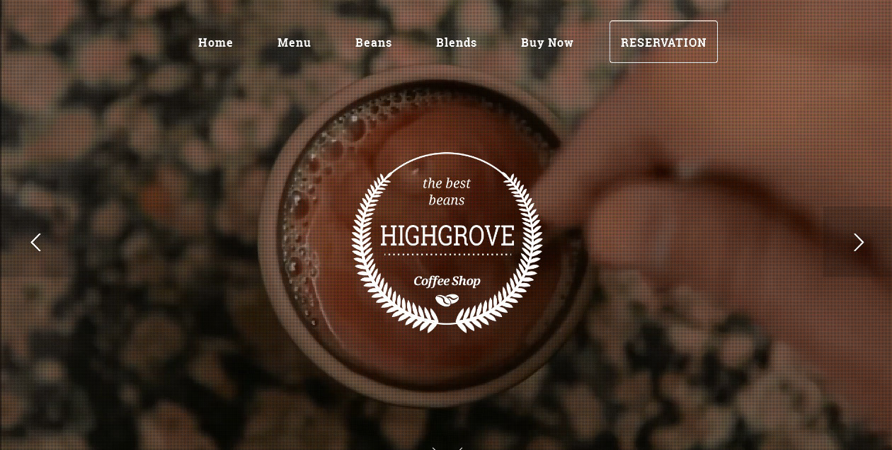 HG Restaurant - coffee shop WordPress themes