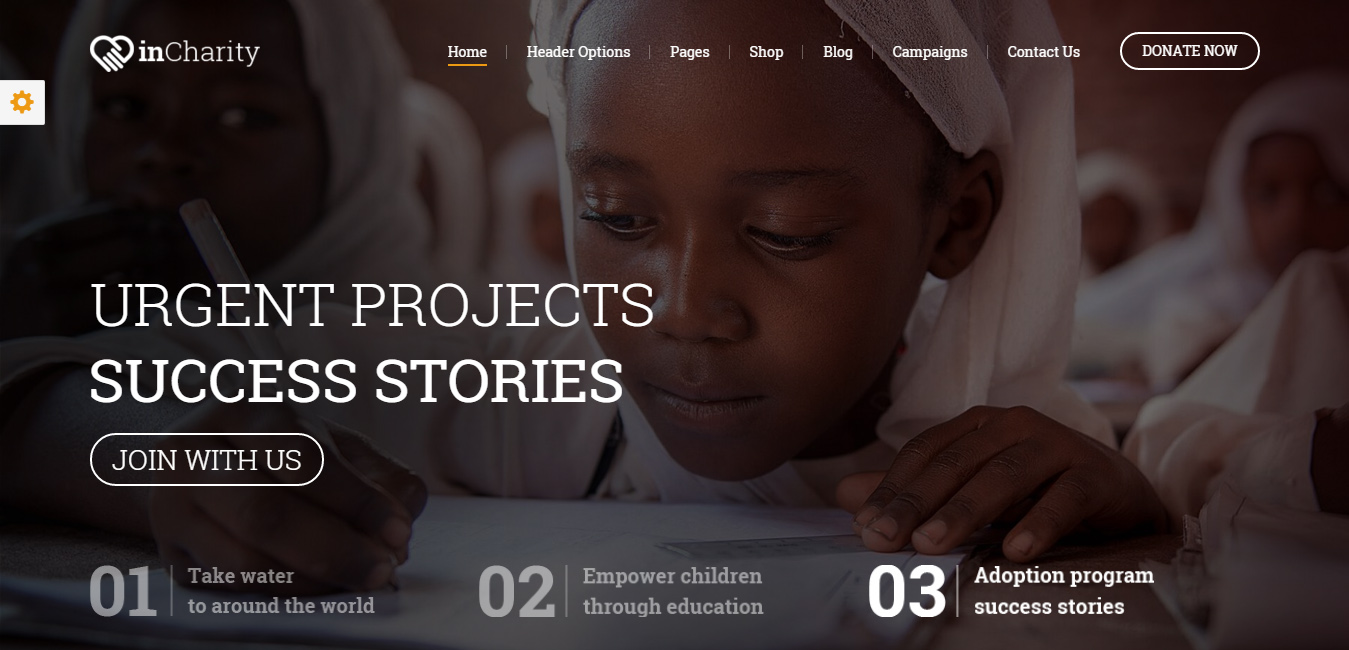 InCharity - WordPress Fundraising and Non-profit Theme