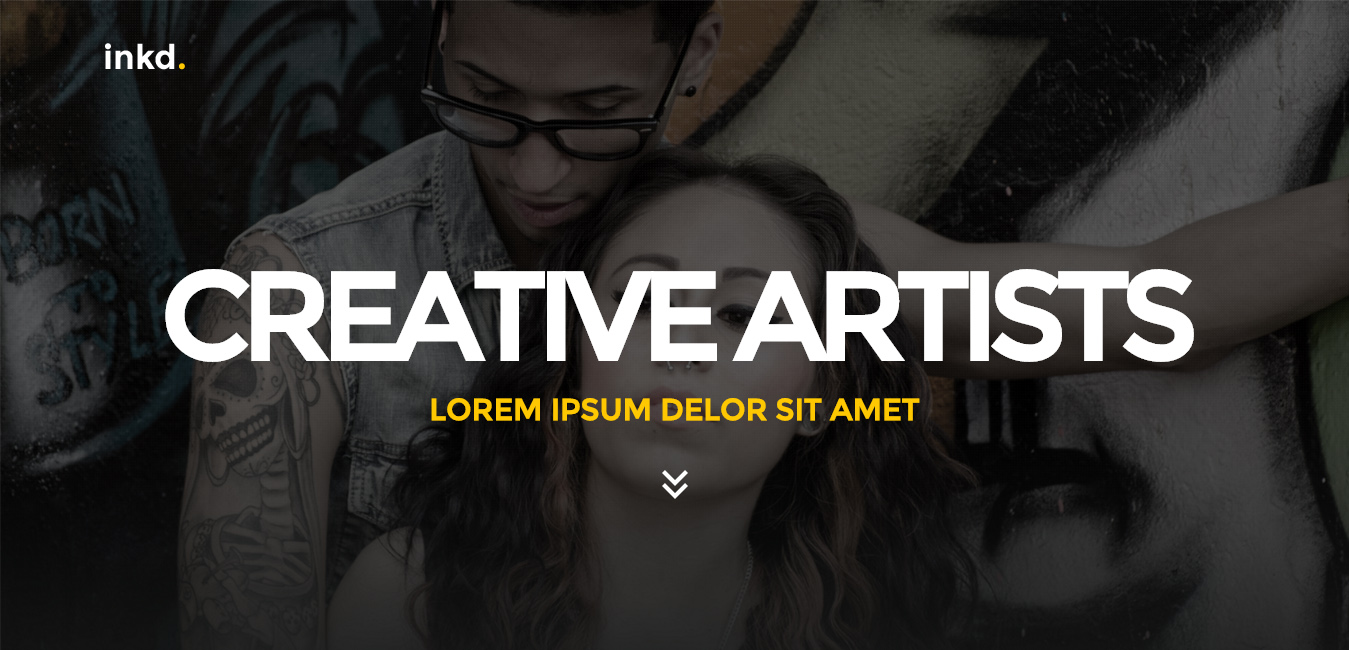 Inkd - Tattoo Studio One-Page WordPress Theme