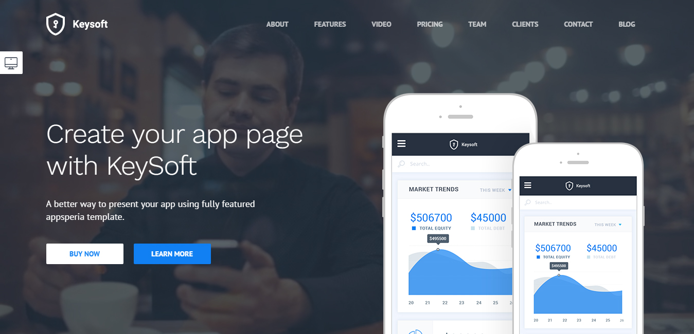 KeySoft - WordPress Software Theme