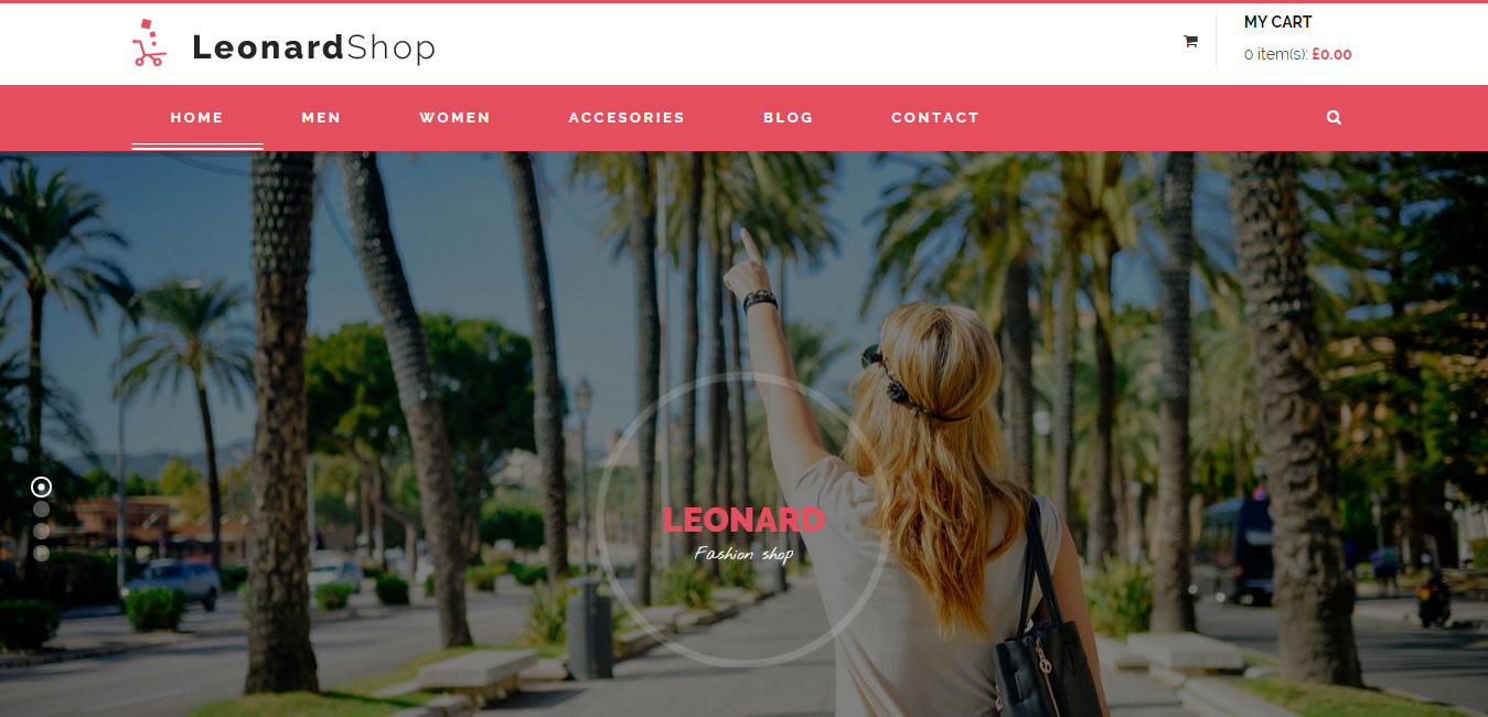Leonard Shop - Responsive Mutil Page WordPress Theme