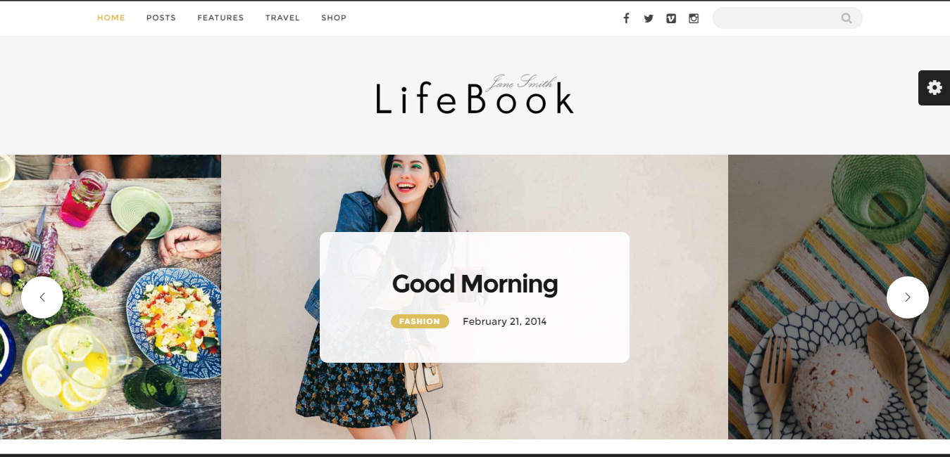 Lifebook - Creative WordPress Blog Theme