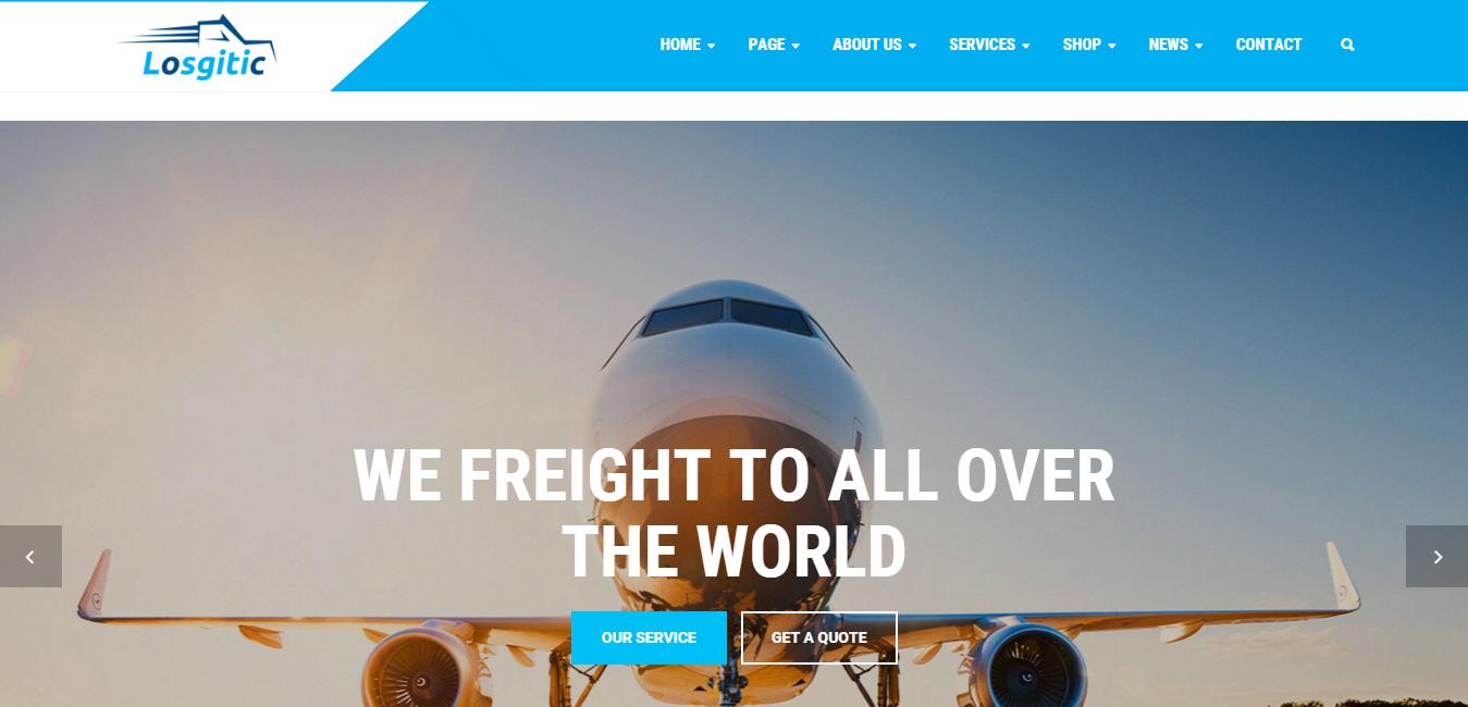 Logistic - Warehouse & Transport WP Theme