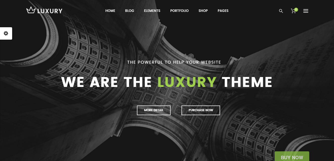 Luxury - Responsive WordPress Theme