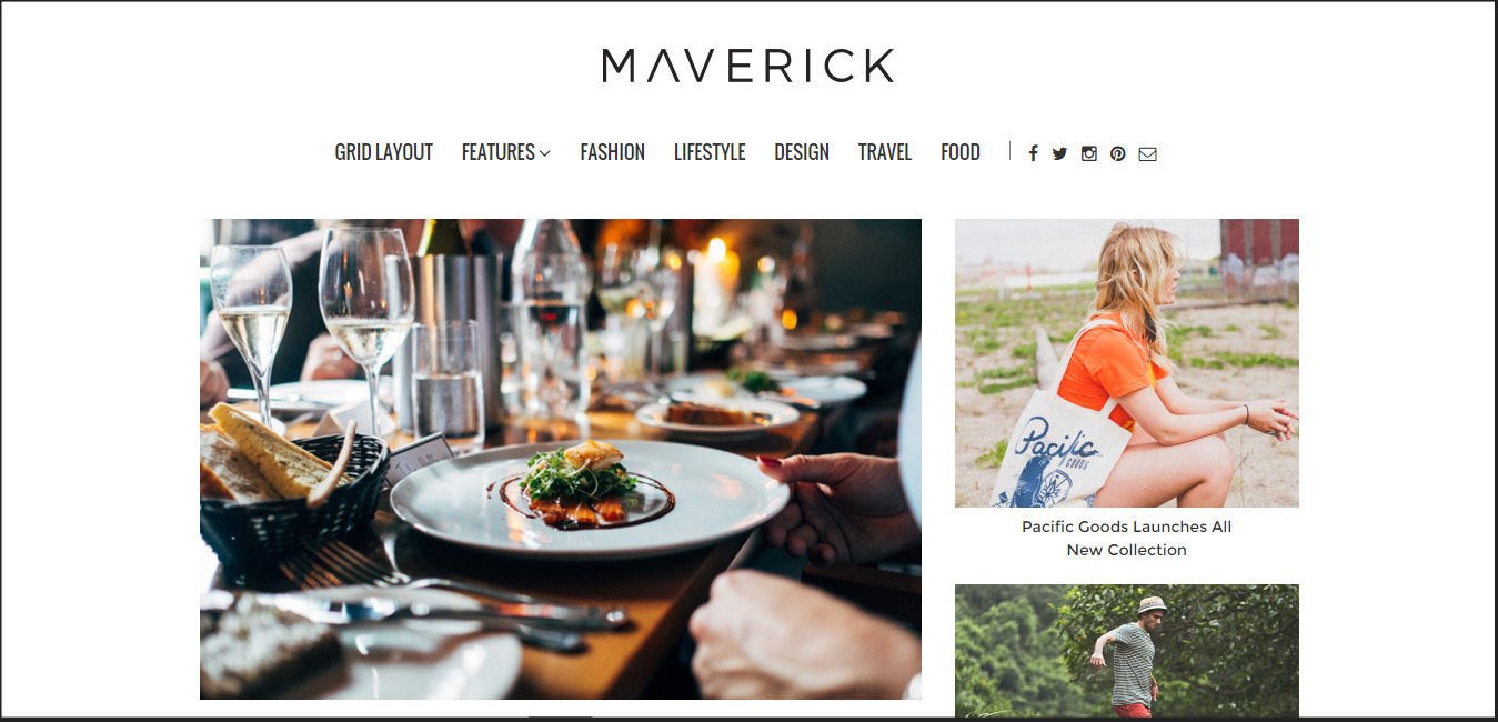 Maverick - Multipurpose WordPress Blog Magazine Theme