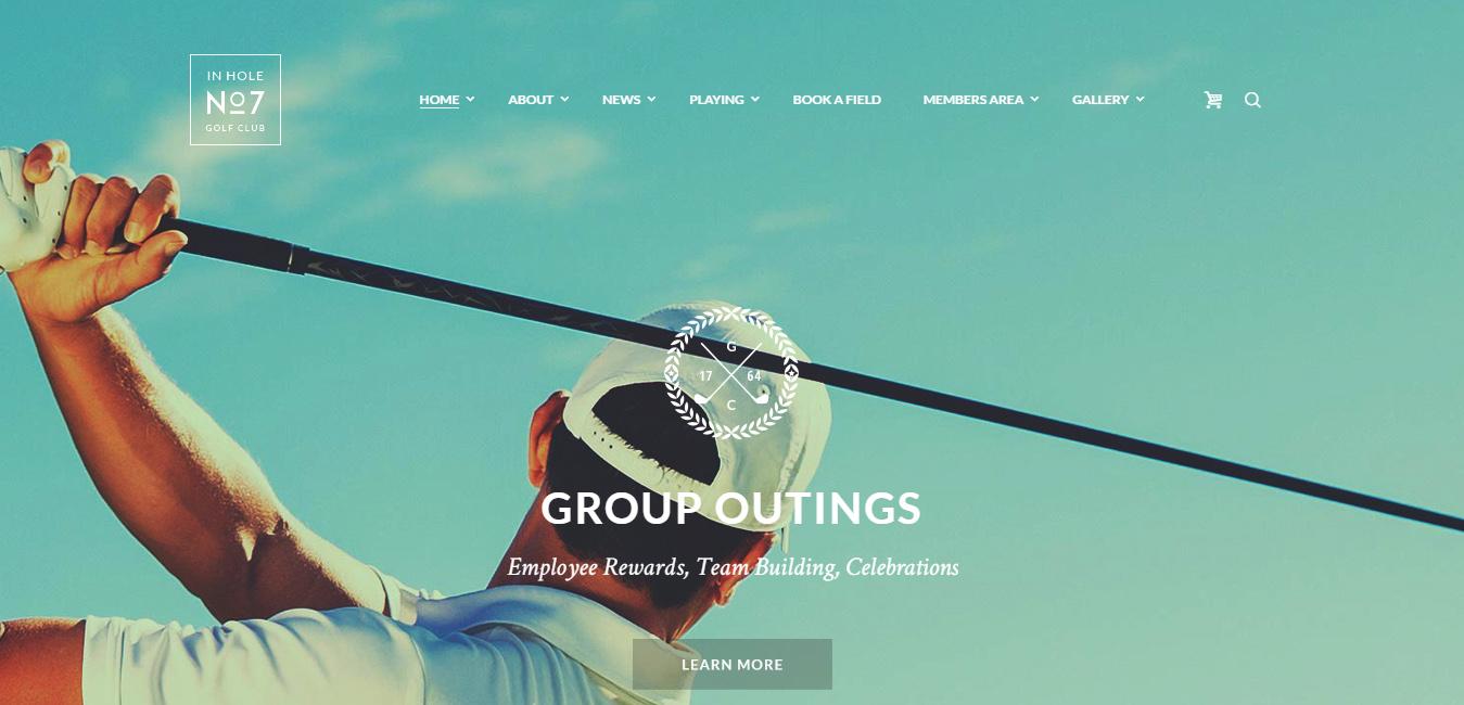 N7 - Golf Club, Sports & Events Theme