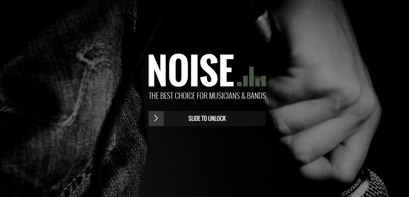 Noise - Music WordPress Themes