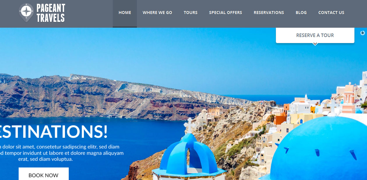 Pageant - Tourism WordPress Themes