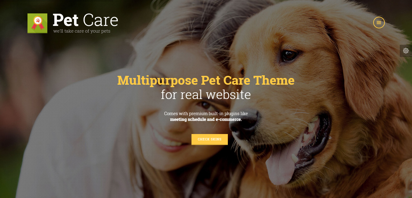 Pet Care - Grooming, Hotel, Hospital & Shop Theme