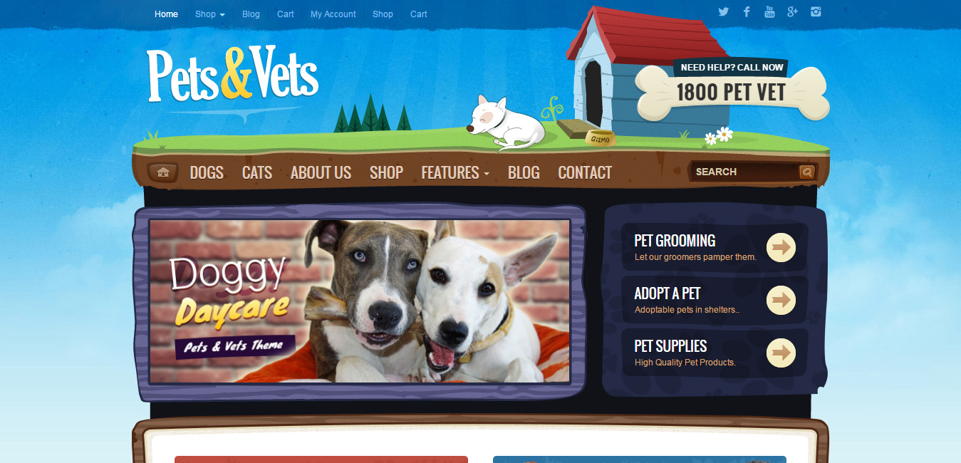 Pets & Vets - WordPress & WooCommerce Theme