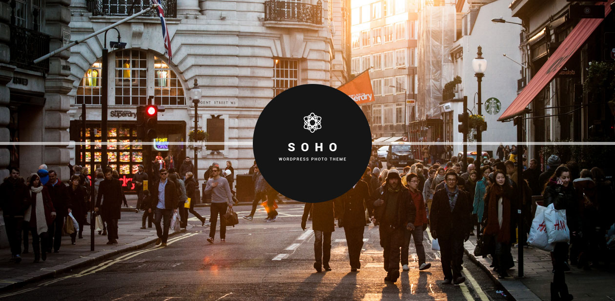 SOHO - Movie WordPress Themes