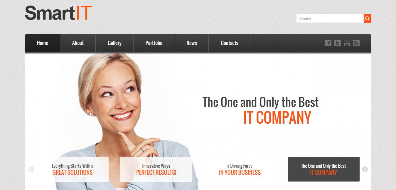 SmartIT Premium Responsive WordPress Theme
