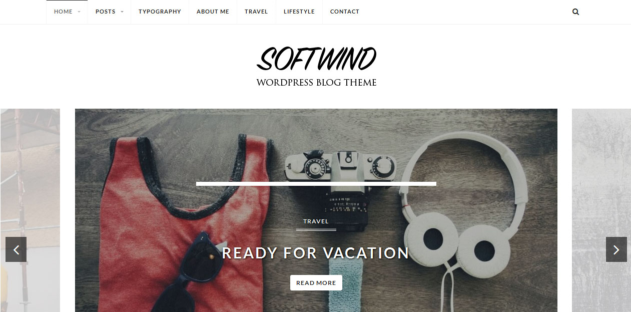SoftWind - SEO Friendly WordPress Themes