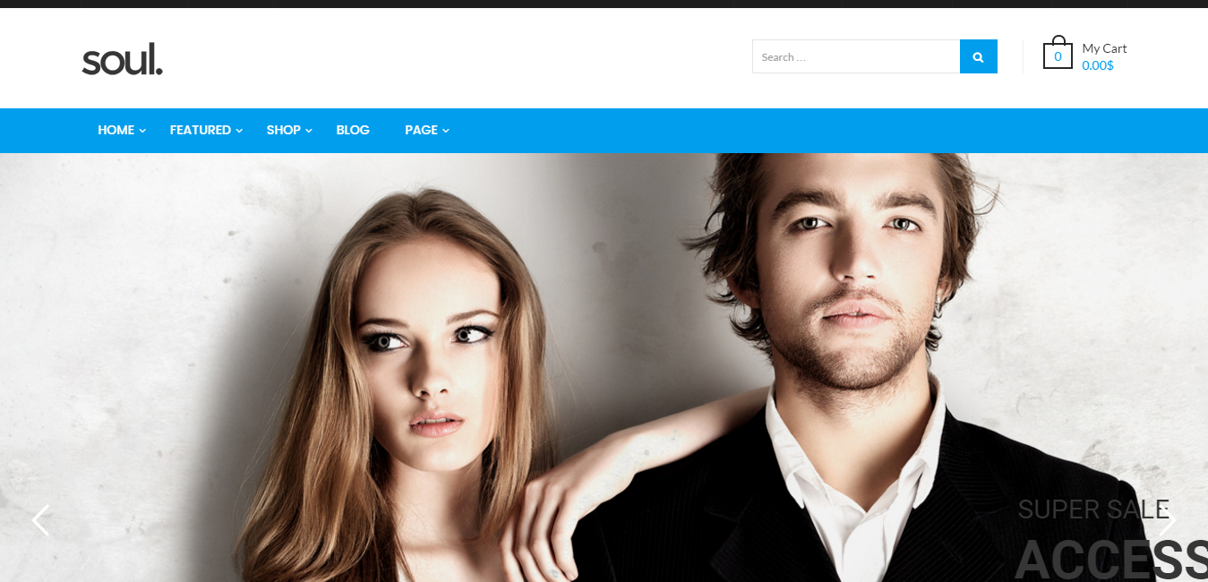 Soul - WooCommerce WordPress Themes