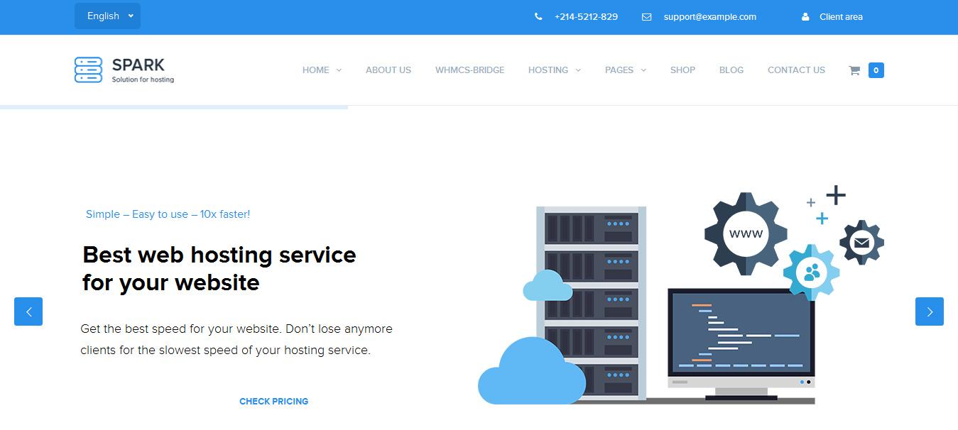 Wordpress Hosting Templates | 35 Great Web Hosting Wordpress Themes 2018 Designorbital