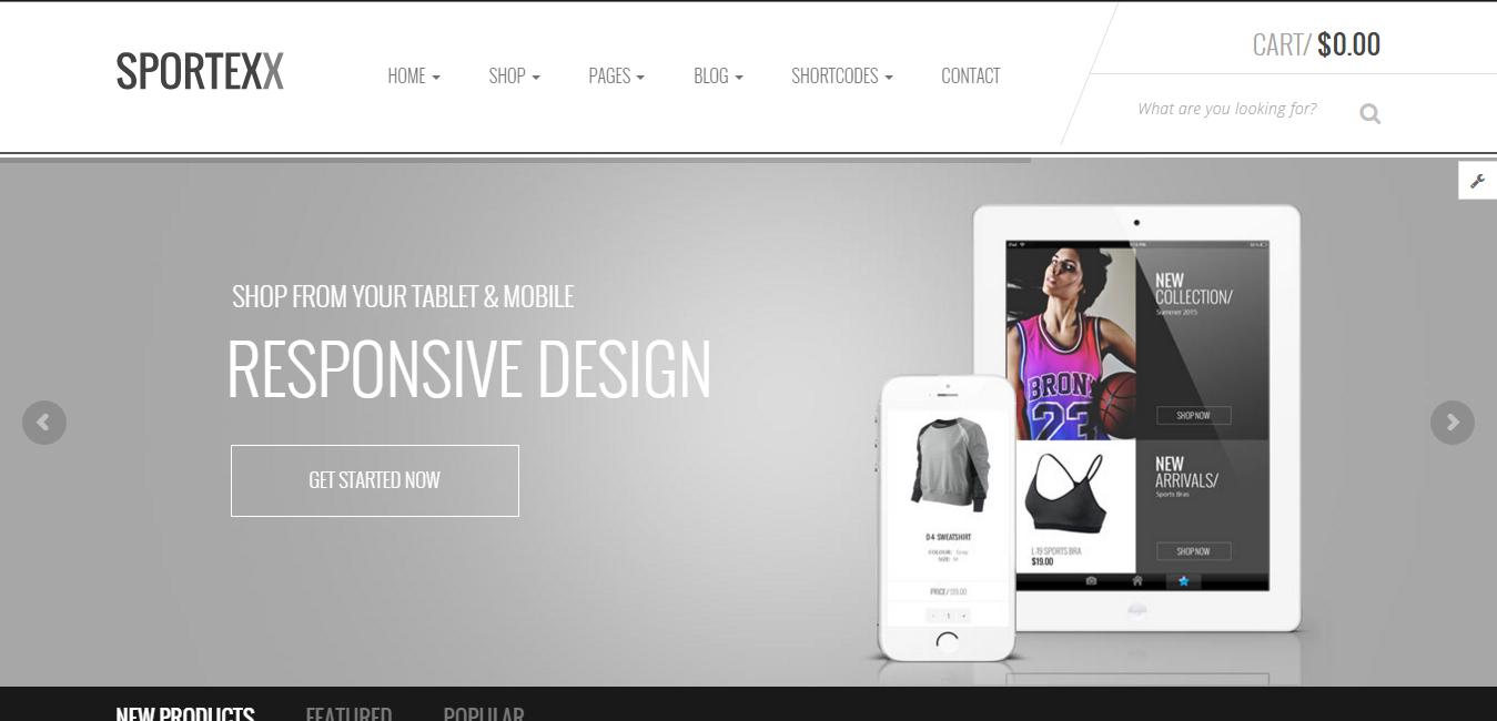 Sportexx - Sports & Gym Fashion WooCommerce Theme