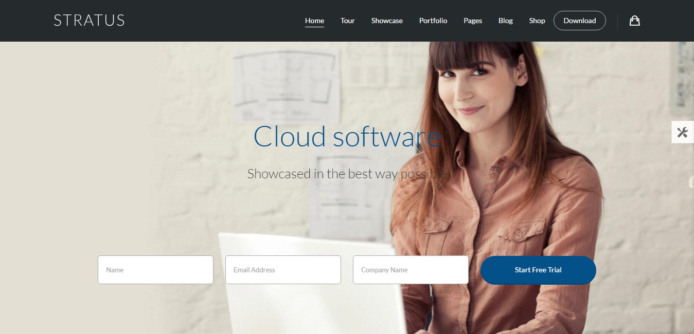 Stratus - App, SaaS & Product Showcase Theme