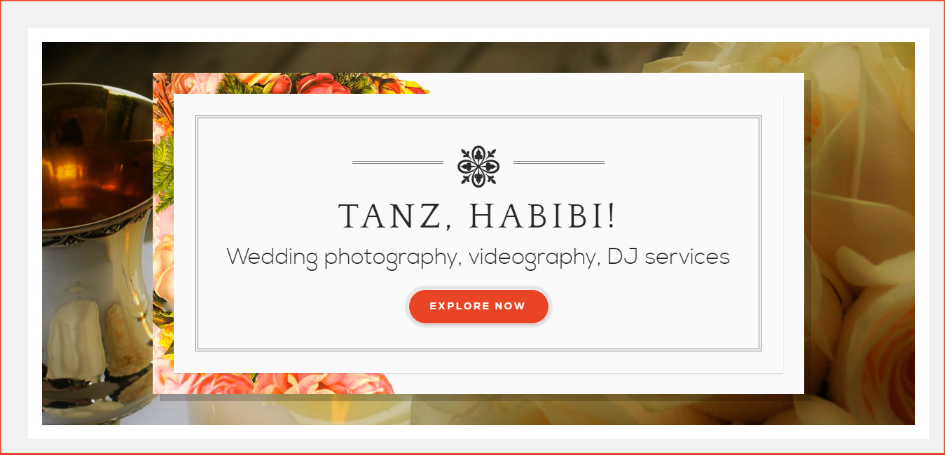 Tanz, Habibi - Wedding Services WP Theme