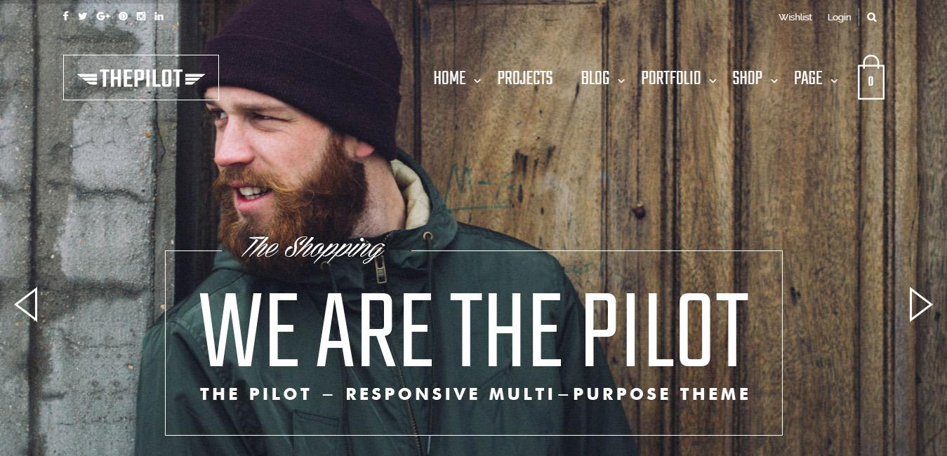 ThePilot - Responsive WooCommerce Theme