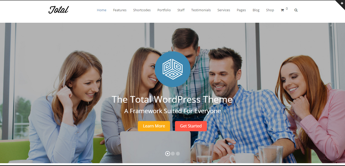 Total - new wordpress themes