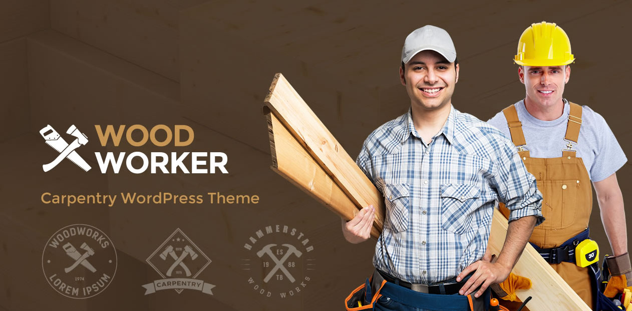 WoodWorker - Industrial WordPress Themes