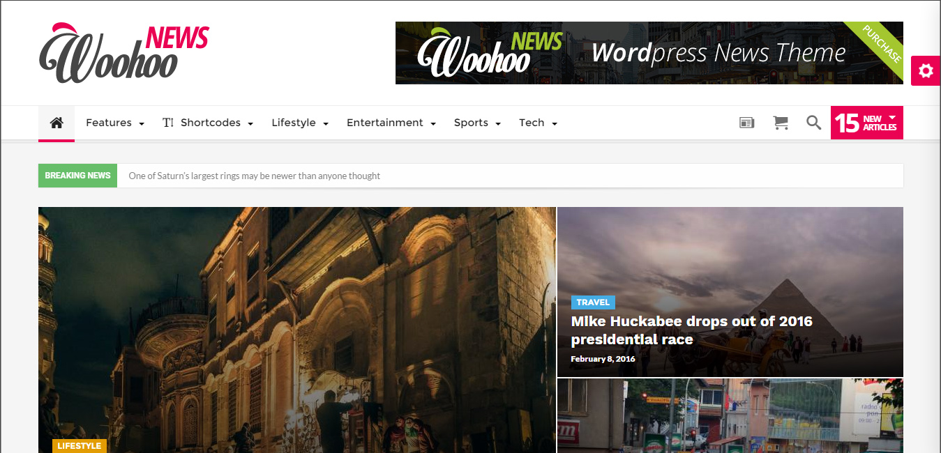 Woohoo - Modish News, Magazine and Blog Theme