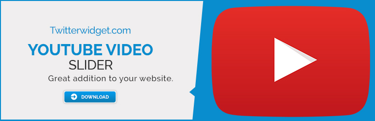 Youtube Video Slider Plugin