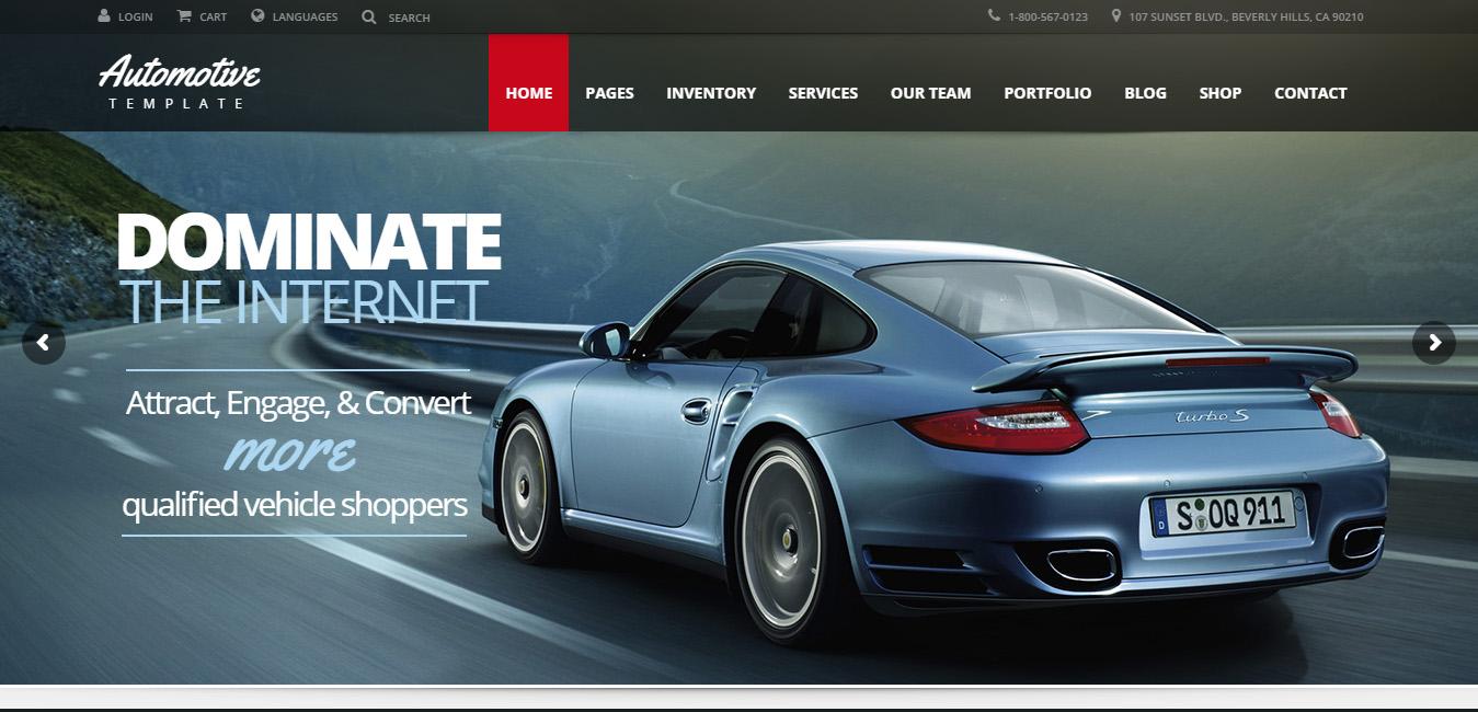 Automotive - Business WordPress Theme