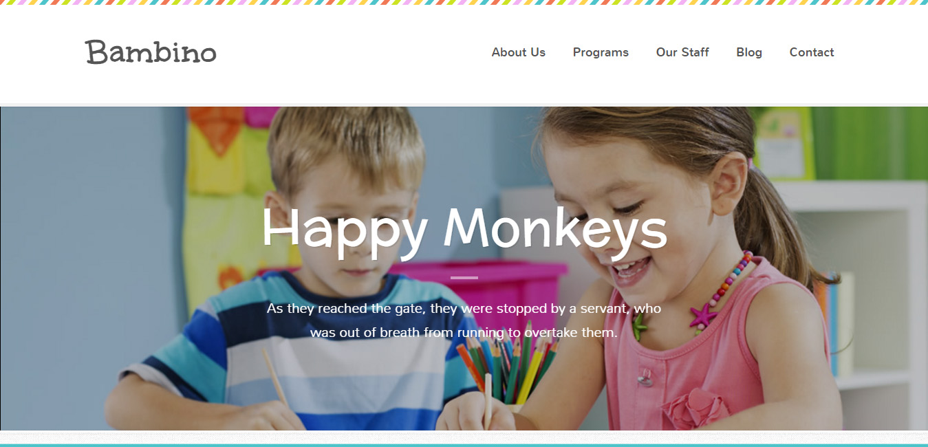Bambino - Children WordPress Theme