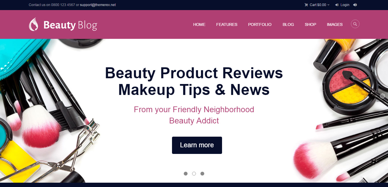 Beauty Blog - Fashion, Beauty & Health Magazine Theme